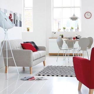 Ana Neuber Design de Interiores: Vermelho e branco - inspiração nas cores do Noel!