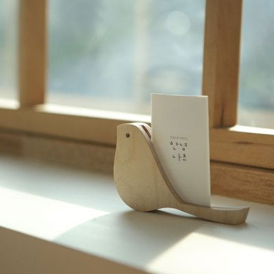 Business Card Holder [ Bird ] / Business Card Stand / Calling Card Holder / Visiting Card Holder / Office Supplies / School Supplies