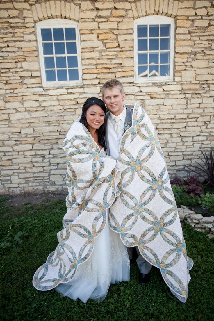 59 best Quilts: Wedding Rings images on Pinterest | Double wedding ...