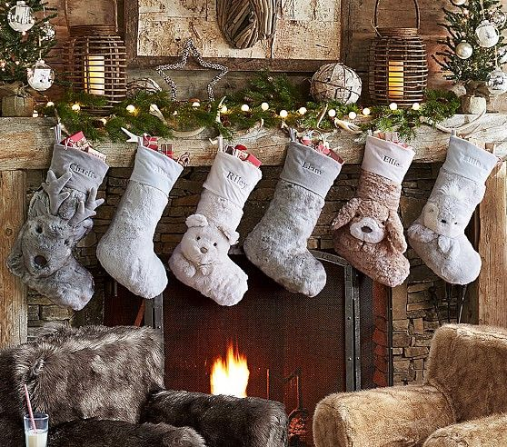 Rustic Christmas Decorating Ideas: Whether it's a cabin in the woods or a home in the city, add a rustic touch to your decor & create a holiday retreat.