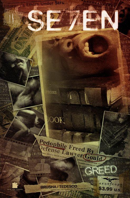 Greed (Se7en) | Seven Deadly Sins Artwork | Pinterest ...