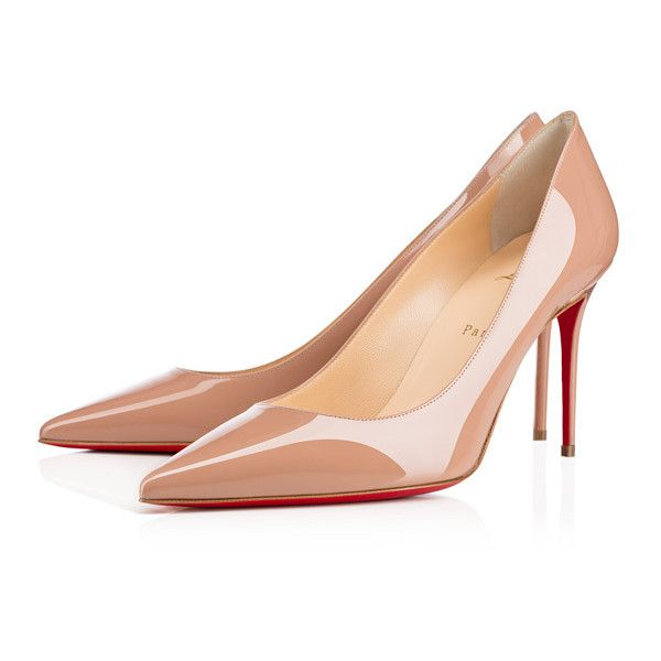 Christian Louboutin Decollete 554 ($675) ❤ liked on Polyvore featuring shoes, pumps, evening shoes, christian louboutin pumps, christian louboutin shoes, high heel shoes and pointed toe high heel pumps