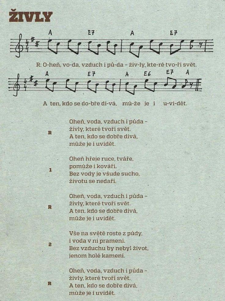 Živly-píseň