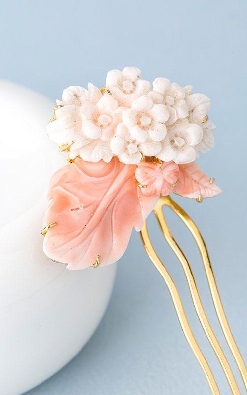 Korean Traditional Hairpin by NASCHENKA [[나스첸카] 나를 위한 고품격 산호 뒤꽂이 _ 산호 뒤꽂이]