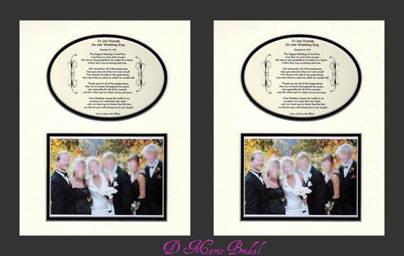 Two To Our Parents Wedding Gift Thank you by DMarieBridal on Etsy