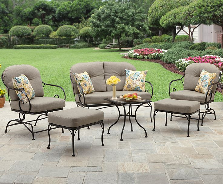 Better Homes and Gardens Myrtle Creek 6 Piece Conversation Set. 212 best Outdoor Living images on Pinterest