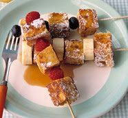 french toast kabobs!