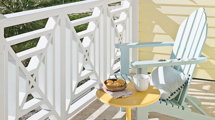 Living Color | What better way to enjoy gorgeous beach views than from a comfortable porch or deck? Find your own outdoor inspiration from our favorite relaxing retreats.