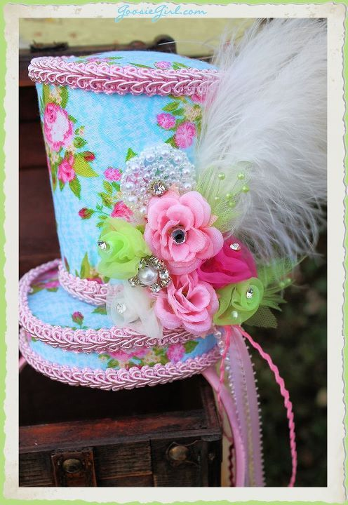 Mini top hat instruction download, this would be cute for Easter mini photo session