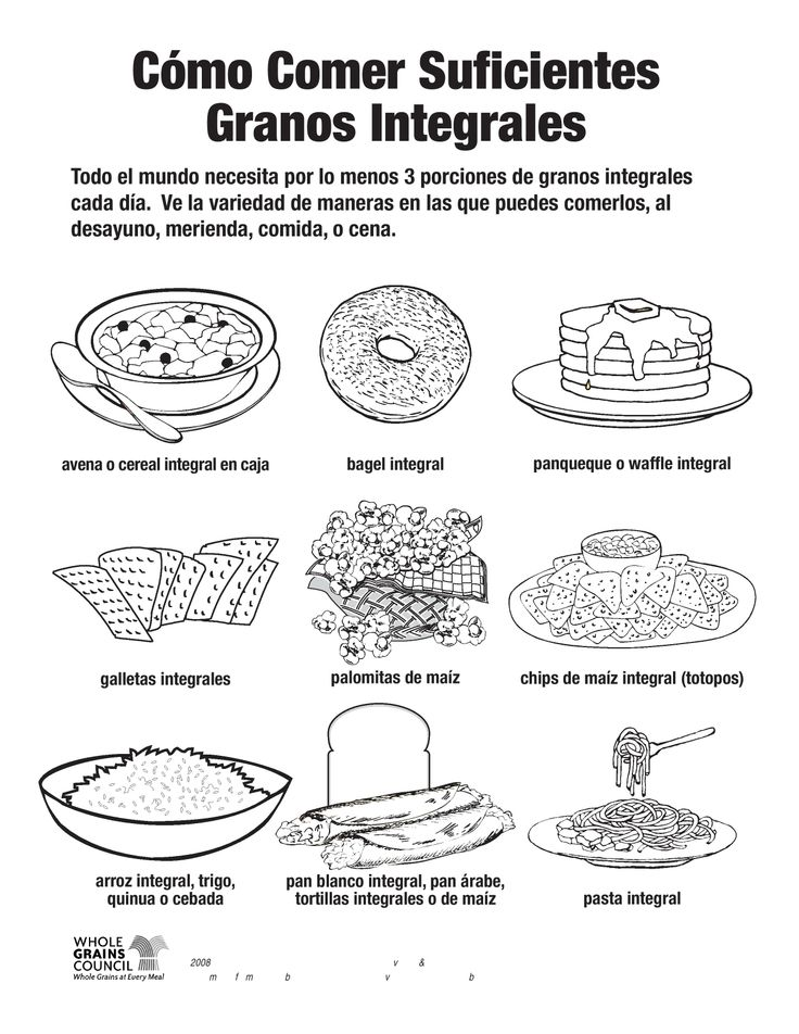 grains food group coloring pages - photo#3