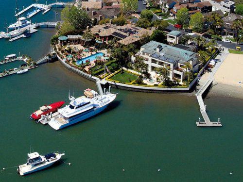John Wayne  Bayshore Drive Newport Beach Ca