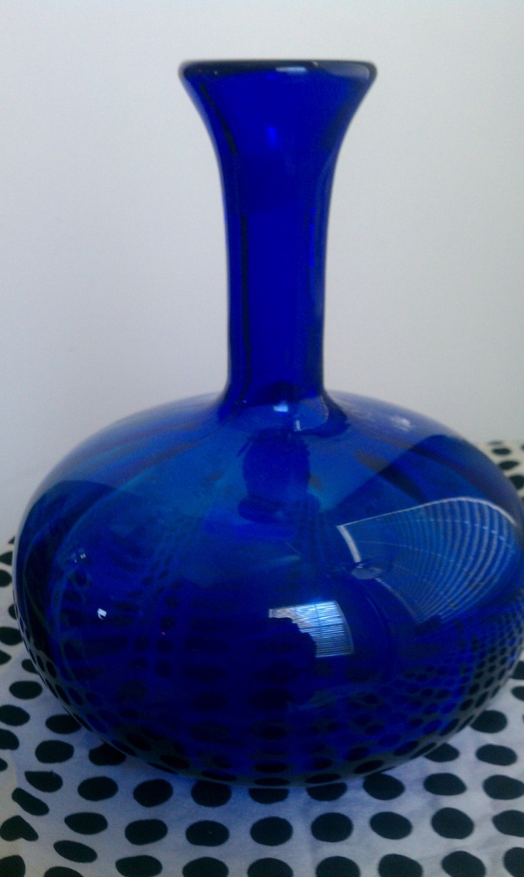 368 best killer cobalt images on pinterest cobalt blue cobalt vintage bottle cobalt blue hand blown glass vase by redneckdivas 4000 reviewsmspy
