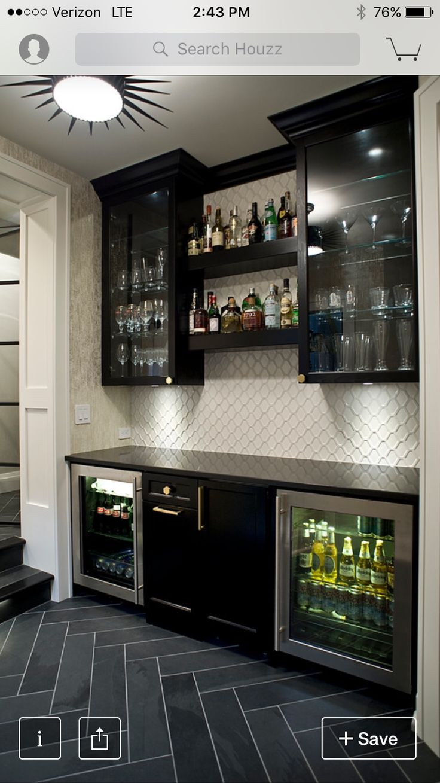Wine Fridge Mini bar in the