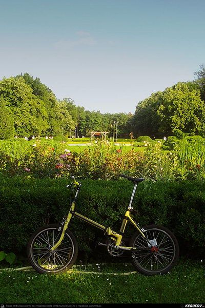 Cu bicicleta prin Bucuresti - traseul 18: Romana - Aviatorilor - Parc Herastrau, pe roti mici, fara Roata Mare . Cycling In Bucharest - 18 -...