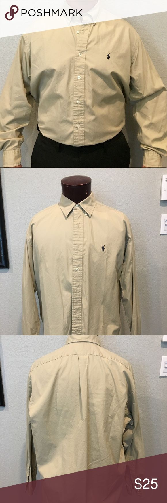 Ralph Lauren dress shirt Nice polo dress shirts! Starched and ready to go. Ralph Lauren Shirts Dress Shirts
