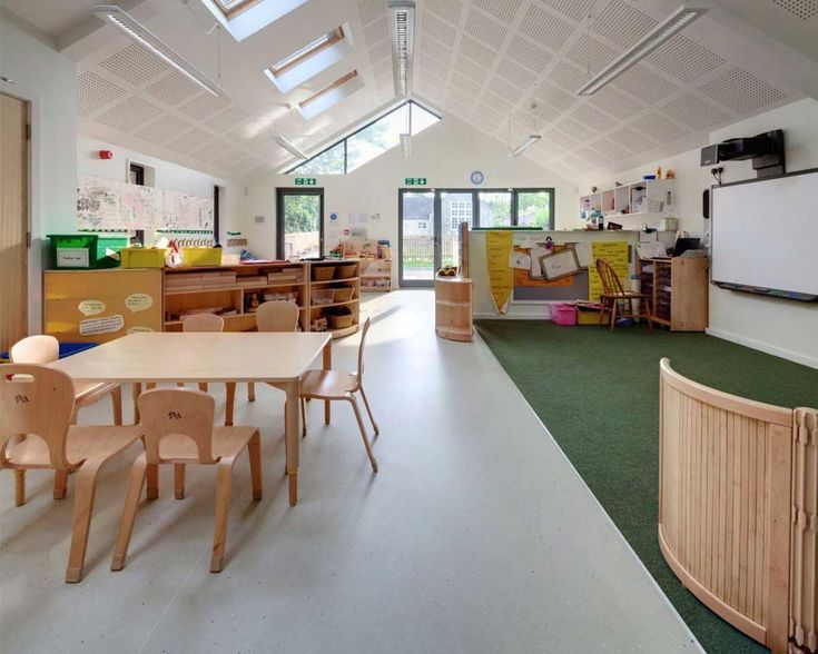 Amazing Spacious Kids Interior Design Schools
