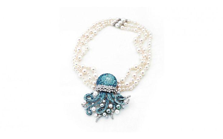 Tentacule de Perle necklace