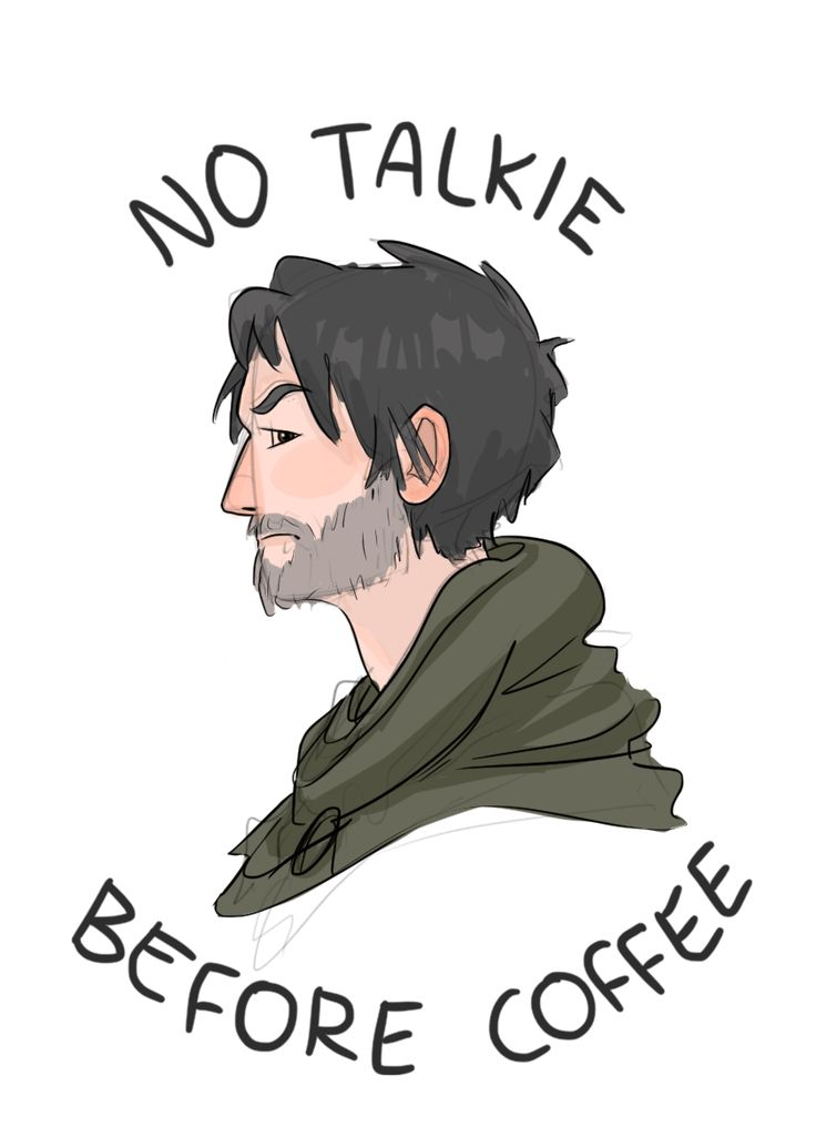 "elfpen: ""As often happens, I was actually working on a digital painting, or trying to, but I got bored/frustrated because those things take so freaking long and started doodling instead. I saw this phrase a while ago and thought of Halt, and also..."