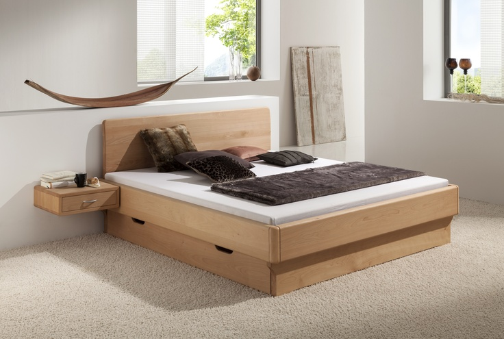 30 best images about bettkonzept solid wood beds on pinterest feng shui modern wood bed and. Black Bedroom Furniture Sets. Home Design Ideas