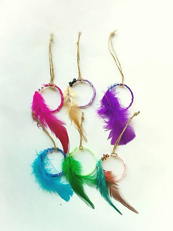 Check out this item in my Etsy shop https://www.etsy.com/listing/472882421/bohemian-party-favors-dreamcatchers-baby