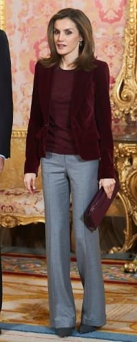 14 Dec 2016 - Queen Letizia attends Princess of Girona Foundation board meeting. Click to read more