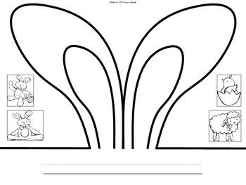 easter bunny hat template - 17 best images about art docs handouts and printables on