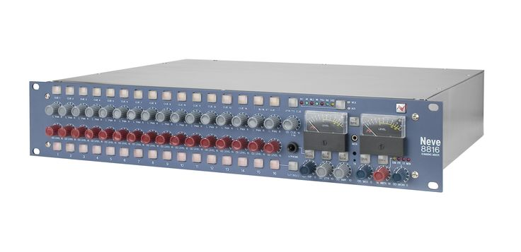 Neve 8816. Neve summing for computer-based producers in a 16 channel format. £1,850 (ex VAT)
