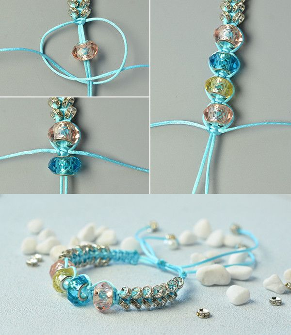 Wanna the nylon thread braided bracelet?See more details from LC.Pandahall.com