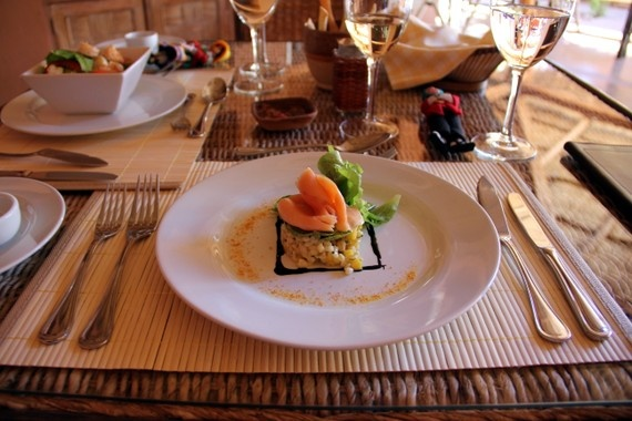 The meals at Awasi were to die for. They tasted even more beautiful than they look.