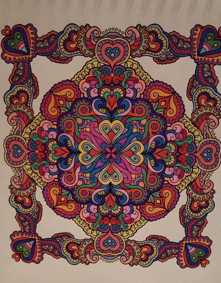 556 Best Mandala Coloring Images On Pinterest