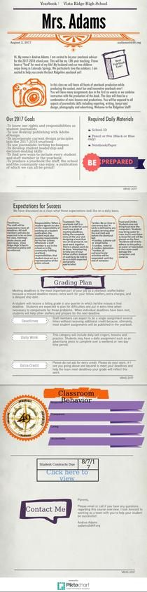 Course Outline Yearbook | Piktochart Infographic Editor
