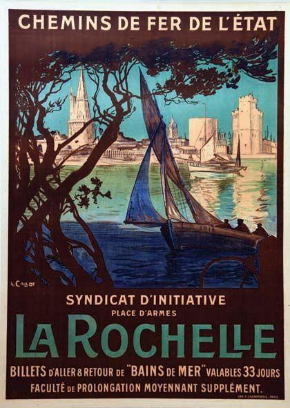 chemins de fer de l'état - La Rochelle - vers 1920 - France -