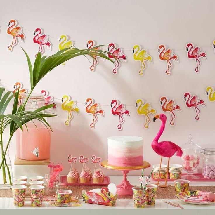 Bright Pink Flamingo Decoration