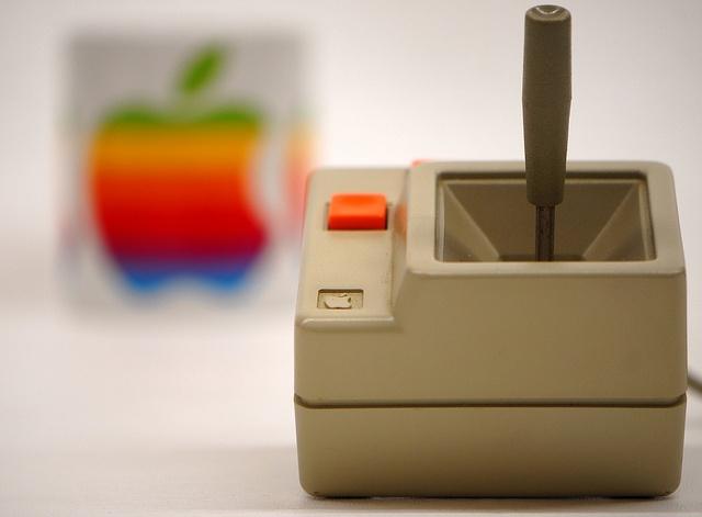 Joystick Apple IIe, IIc by alainGB, via Flickr