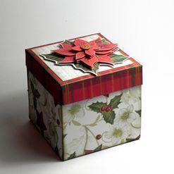 Exploding box s vánočními motivy