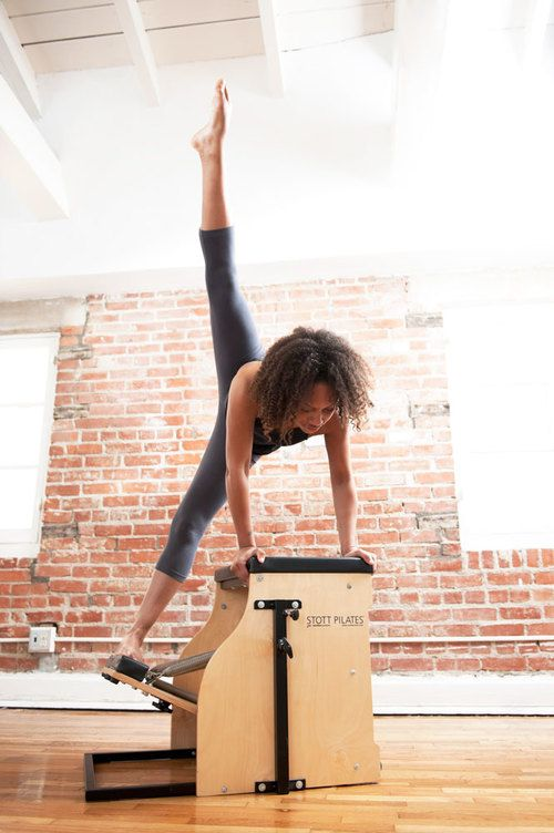 This is something we have to try! Stott pilates chair at Blackbird Pilates Santa Monica.