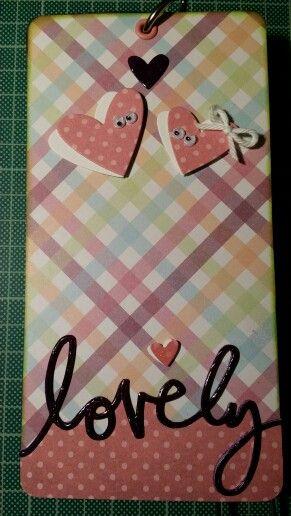 Tag lovely. Ann Friks Original.