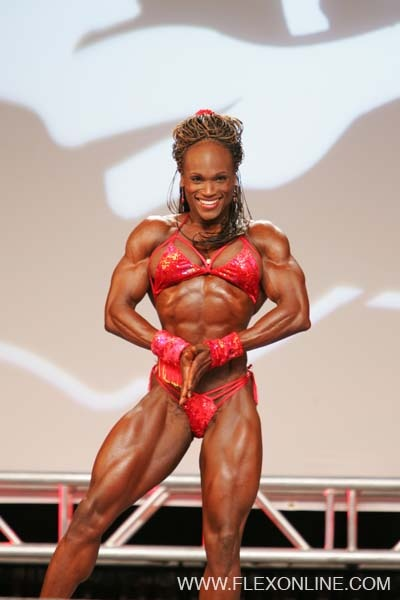 Antoinette Thompson's priceless physique. I love this woman. Pure elegance.