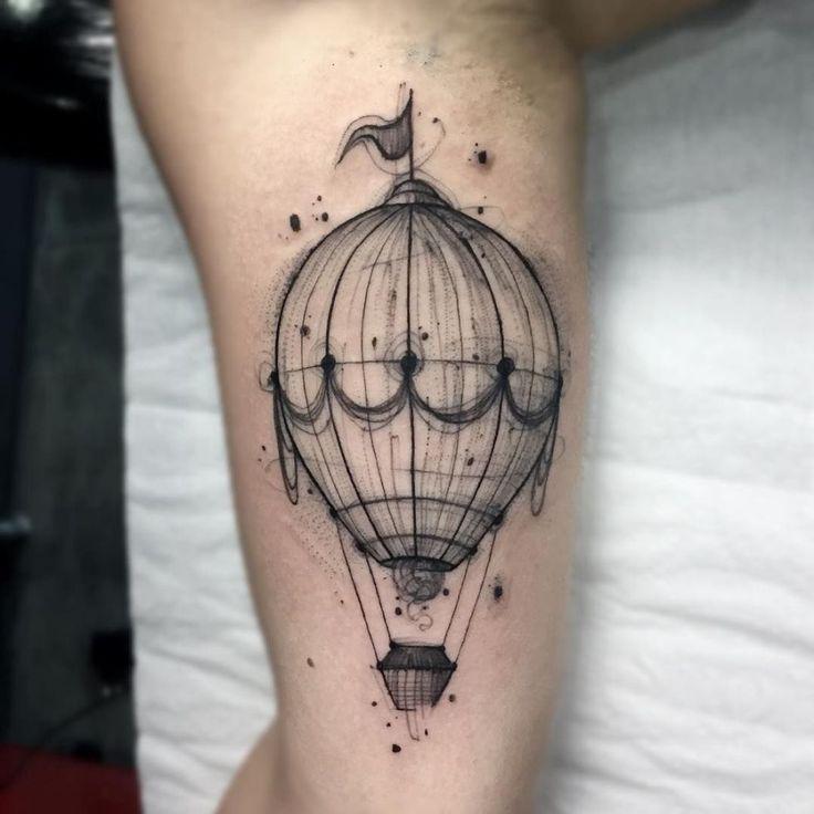 Möchten Sie Einen Einzigartigen Tattoo? Schauen Sie Sich Diese Bunte und Skizzenhafte Tattoos – tattoo