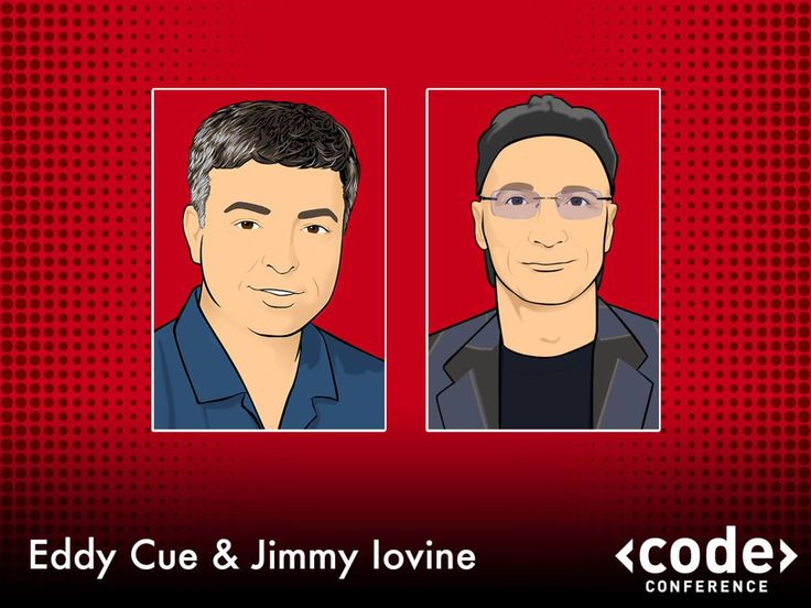 Apple Eddy Cue and Jimmy Iovine CEO Beats   2014 Re/Code Conference.