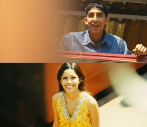 Slumdog Millionaire. Jamal and Latika