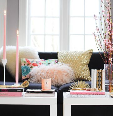 books! How to Style a Coffee Table