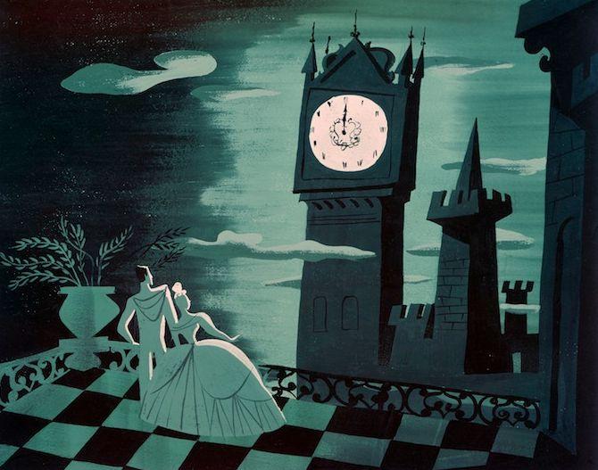 #Cinderella art by Mary Blair