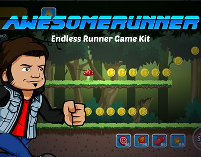 """Check out new work on my @Behance portfolio: """"Game Kits Awesomerunner"""" http://be.net/gallery/44567169/Game-Kits-Awesomerunner"""
