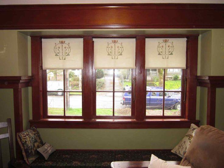 Laurelhurst 1912 Craftsman: Window Coverings