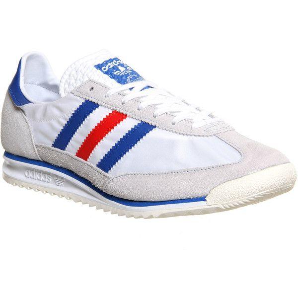 Adidas Sl 72 ($85) ❤ liked on Polyvore