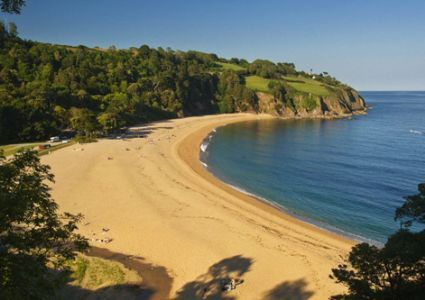 Blackpool Sands Beach - Blackpool Sands, Dartmouth, Devon, TQ6 ORG #dogfriendly beach Restrictions: March - November