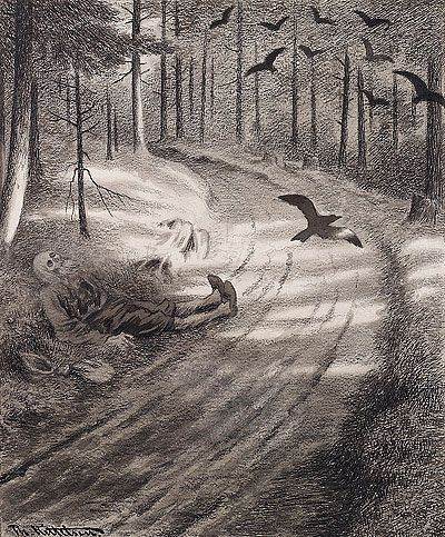 The Book of Worlds: Featured Artist: Theodor Kittelsen
