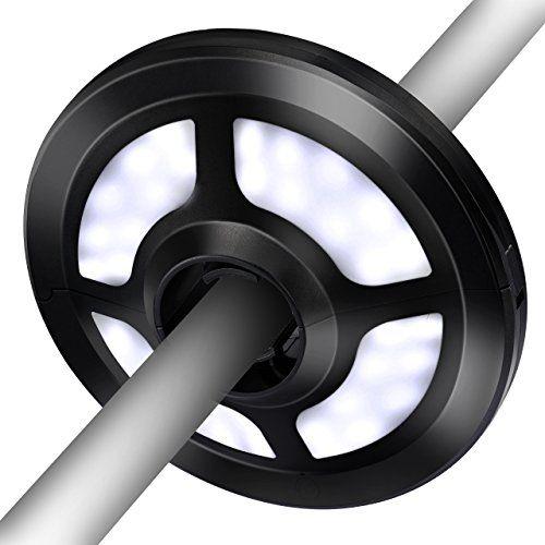 Elegant  Lampe pour Parasol de Jardin VicTsing Lampe LED sans fil Lumens pour