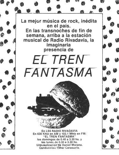 Radio Rivadavia, 1980.